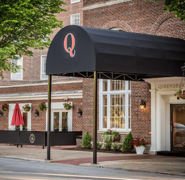 Hotel Exterior Maple Street Entrance
